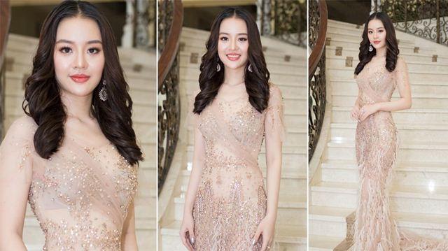 Hoàng Hải Thu diện váy mỏng như sương khoe ba vòng gợi cảm