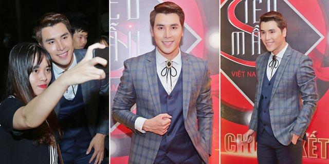 """Fans nô nức xin chụp hình cùng Hoàng Phi Kha tại """"Siêu mẫu Việt Nam 2018"""""""