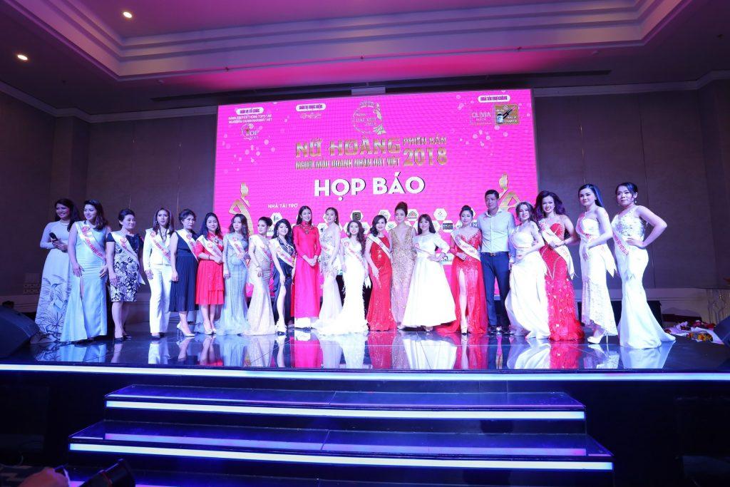 Nữ Hoàng Doanh Nhân Đất Việt Phiên Bản 2018 bùng nồ