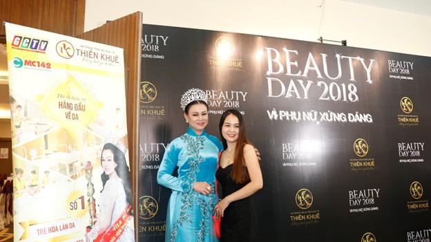 Hoa hậu Minh Châu xuất hiện đầy rạng rỡ giao lưu cùng khán giả Đồng Nai