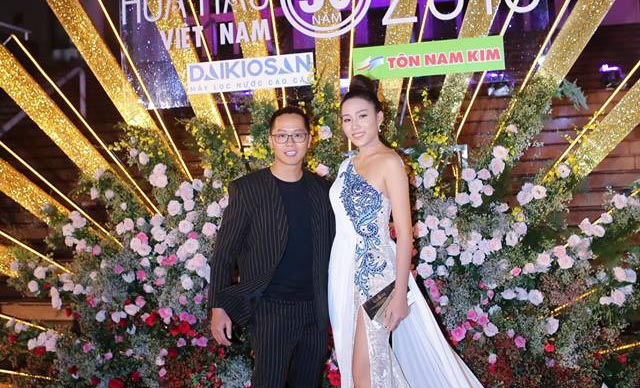 HLV Quốc tế Tiến Thuận hội ngộ dàn sao trong chung kết Hoa hậu Việt Nam 2018