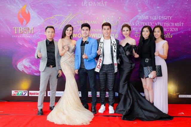 Nam vương Hoàng Gia Lâm cùng nhiều ngôi sao đình đám tham dự họp báo ra mắt cuộc thi nhan sắc