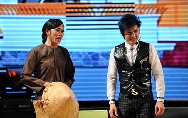 Đan Trường hội ngộ Hoài Linh trong Nụ cười & Âm nhạc