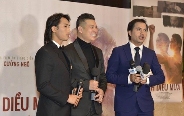 Phim hành động của đạo diễn Cường Ngô thu hút đông khán giả và sao Việt tại buổi lễ ra mắt