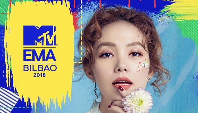 Minh Hằng đại diện Việt Nam tranh cử giải thưởng âm nhạc MTV Europe Music Awards 2018