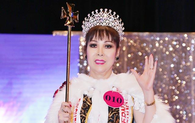 """Xuân Dung đoạt vương miện cao quý Hoa hậu phu nhân cuộc thi """"Queen's and King's"""""""