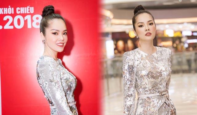 """Dương Cẩm Lynh khoe vẻ gợi cảm trong buổi ra mắt phim """"Quý cô thừa kế"""""""