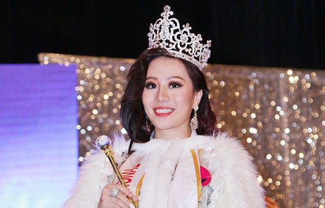 Thí sinh Việt Nam - Vũ Lan Anh đăng quang với vương miện Hoa hậu