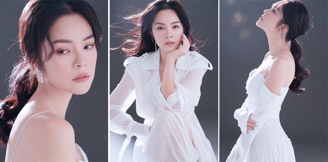 Dương Cẩm Lynh là MC thảm đỏ Liên hoan Phim quốc tế Hà Nội lần thứ 5