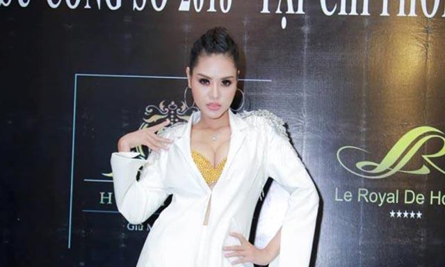 Hoa hậu Dy Khả Hân liên tục làm giám khảo nhiều sự kiện sắc đẹp