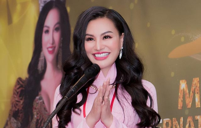Đàm Vĩnh Hưng đồng hành cùng Nữ hoàng Trần Huyền Nhung tại cuộc thi MR&MS International Business