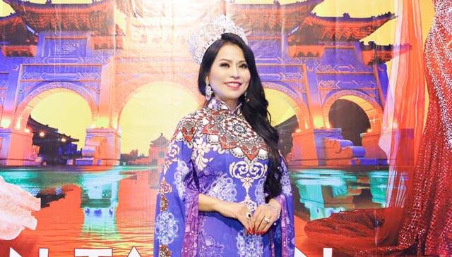 Hoa hậu Lý Nhã Lan lần đầu mang cuộc thi Miss & Mister Universe Pageant sang Đài Loan