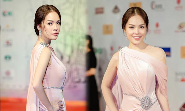 Dương Cẩm Lynh hóa nữ thần trong vai trò MC