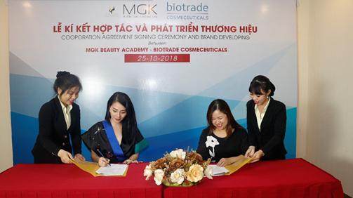 Biotrade – mỹ phẩm cao cấp từ Châu Âu chọn MGK làm cố vấn phát triển thương hiệu