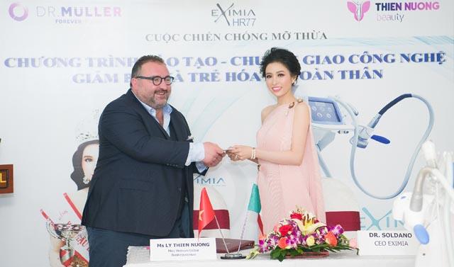 Hoa hậu Lý Thiên Nương tiết lộ bí quyết giảm cân trong vòng 7 ngày
