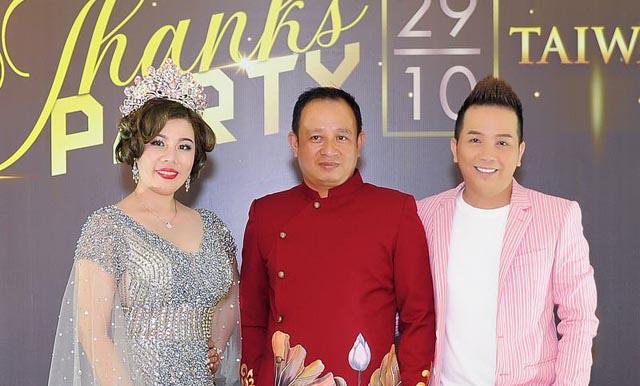 Thanks Party hoành tráng của ekip Miss and Mrs Taiwan International Global 2018