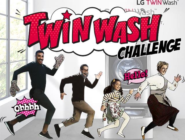 """""""Thử thách nhảy TWINWash"""" cùng LG với giải thưởng lớn hàng trăm triệu đồng"""