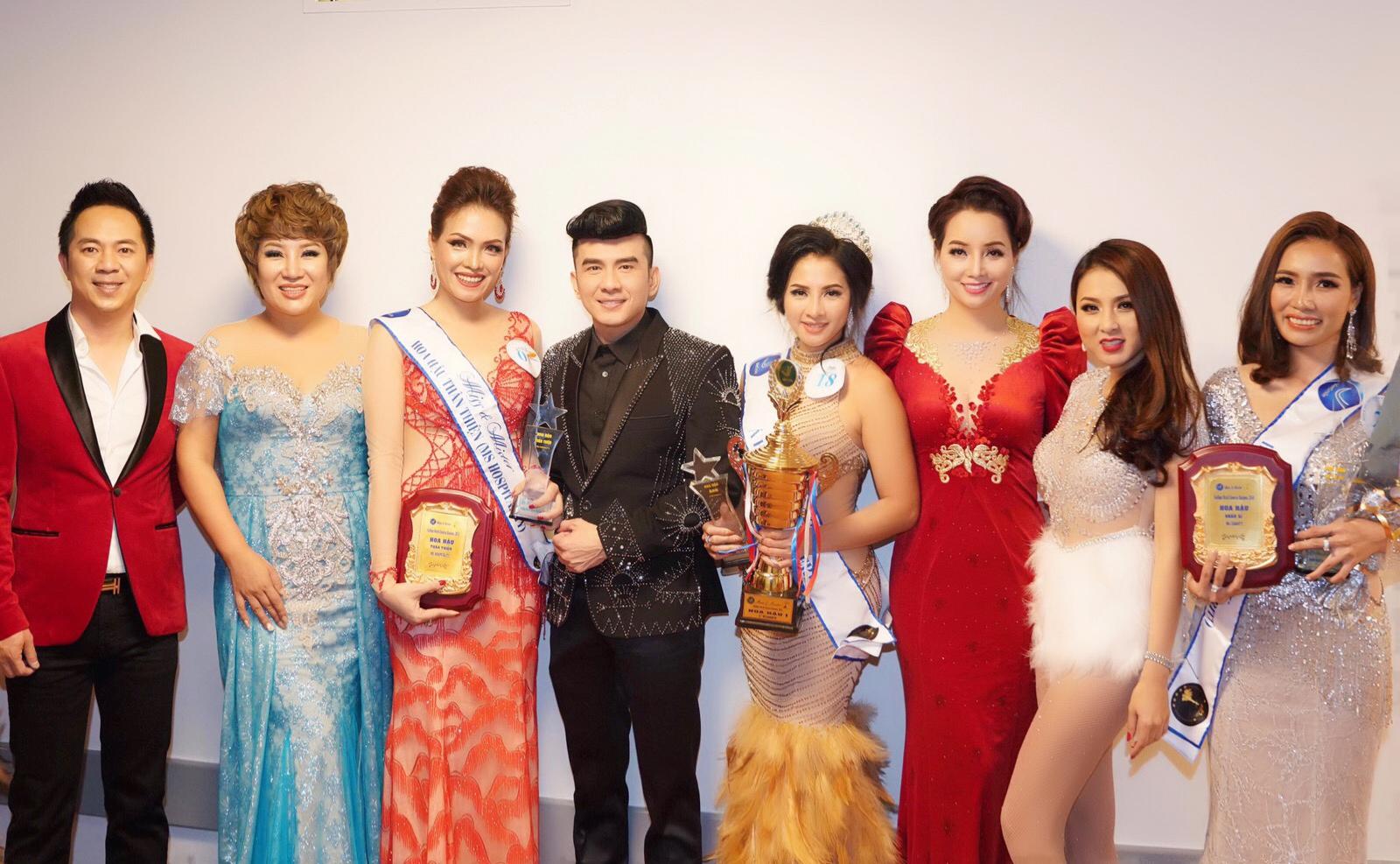 Người đẹp Thái Nhã Vân  đoạt giải hoa hậu 1 'Hoa Hậu Hoàn Vũ Việt Nam Thế Giới'
