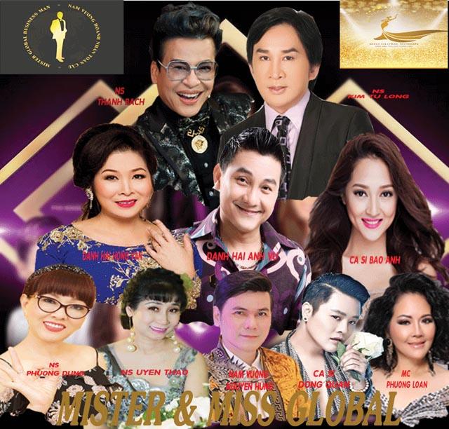 Chính thức công bố hội đồng BGK cuộc thi Nam Vương Và Hoa Hậu Toàn Cầu 2018