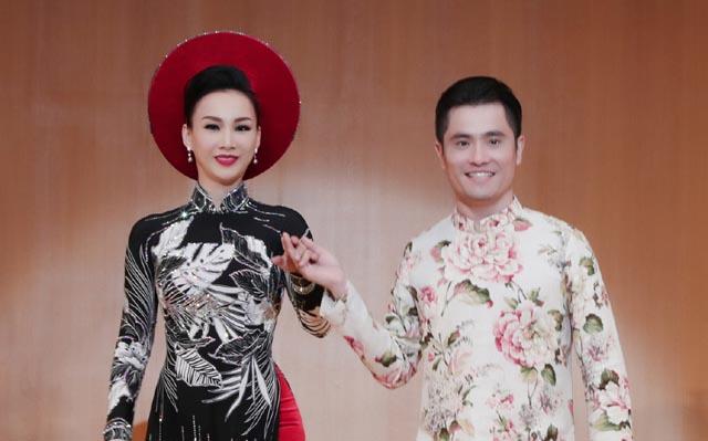 Hoa hậu Paris Vũ lần đầu làm vedette ở buổi Giao lưu văn hoá Việt Nhật