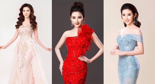 Người đẹp Trần Tuyết Nhung khoe dáng gợi cảm trong trang phục dạ hội Tommy Nguyễn