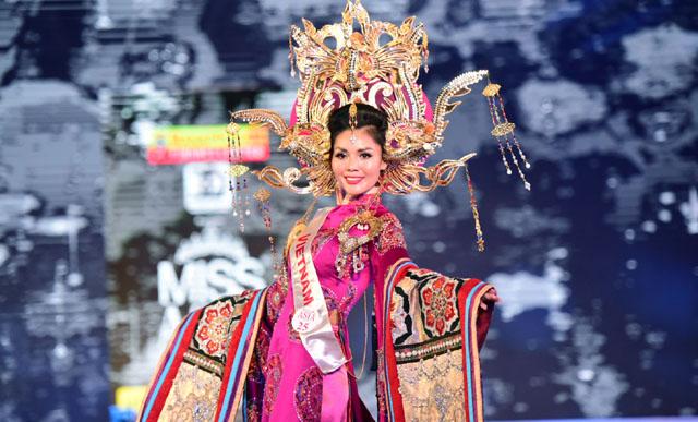 Kim Nguyên được vinh danh Tân Hoa hậu Châu Á Việt Nam 2018
