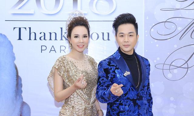 Quách Tuấn Du đến chúc mừng Hoa hậu Doanh nhân Quốc tế 2018 - Minh Thảo
