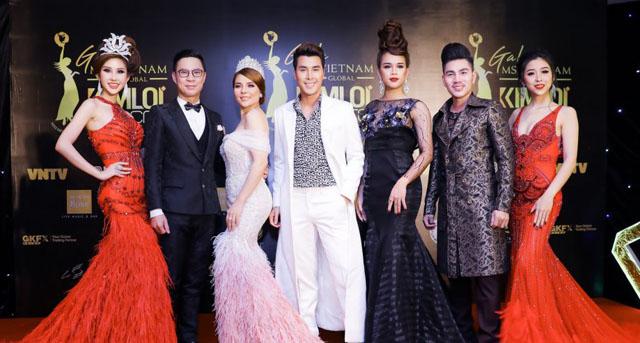 Nam vương Hoàng Gia Lâm hội ngộ dàn sao đình đám tại sự kiện Ms VietNam Global Gala