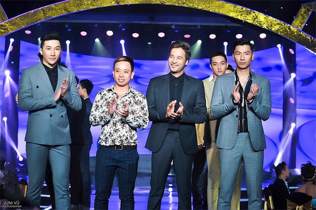 Siêu mẫu Nam Phong và Đoàn Thanh Tài tỏa sáng trên sàn diễn