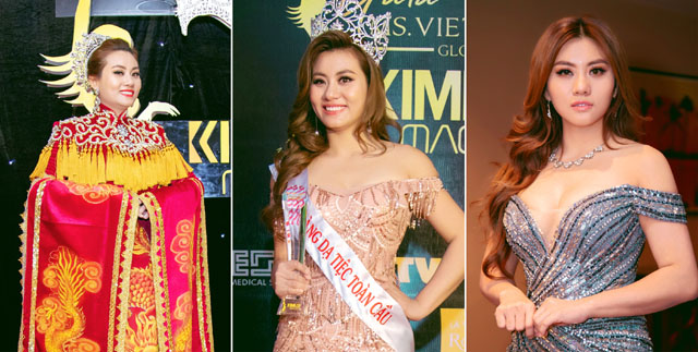 Á hậu Lương Nhã Hiền được vinh danh Nữ hoàng Dạ tiệc Toàn cầu năm 2018