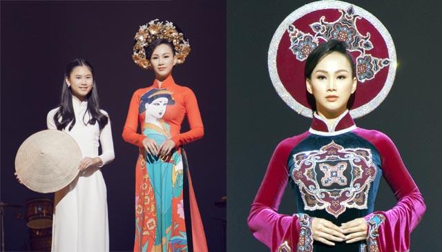 Hoa hậu Paris Vũ làm say lòng khán giả Nhật khi trình diễn áo dài Geisha