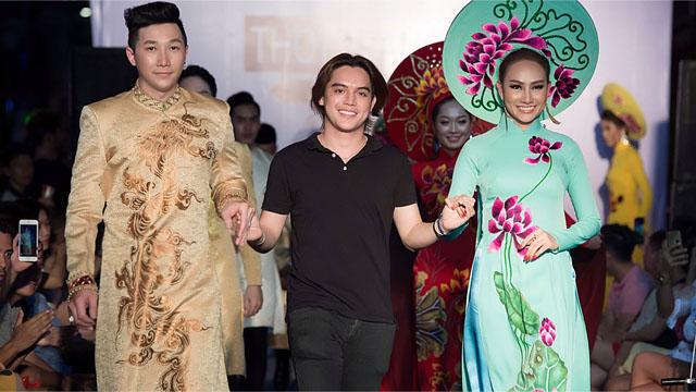 """Siêu mẫu Nam Phong """"sánh bước"""" cùng Á Hậu Kim Duyên làm vedette cho bộ sưu tập mới của NTK Brian Võ"""