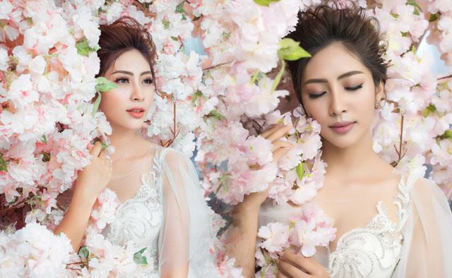 Hoa hậu Đại dương Đặng Thu Thảo sẽ hóa cô dâu thanh khiết sương mai
