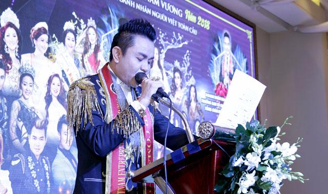 Cuộc thi Hoa Hậu & Nam vương Doanh nhân người Việt Toàn cầu 2018 chính thức khởi tranh