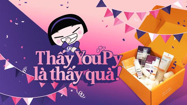 """""""Thấy YouPy là thấy quà"""" món quà dành tặng khán giả dịp cuối năm của YouTV"""