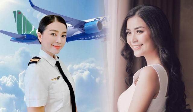 """Diễn viên """"Dốc sương mù"""" trở thành nữ phi công đầu tiên của hãng Bamboo Airways"""