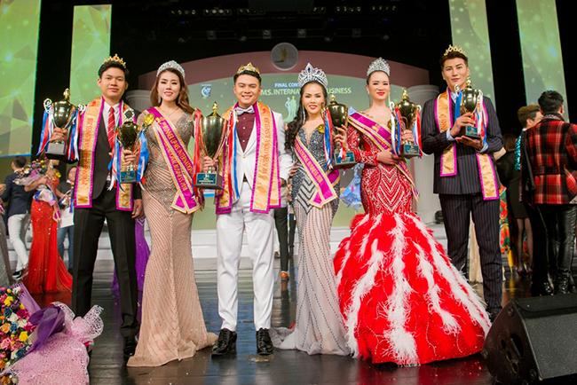 Mãn nhãn với đêm chung kết hoa hậu và nam vương doanh nhân quốc tế tại Hàn Quốc.