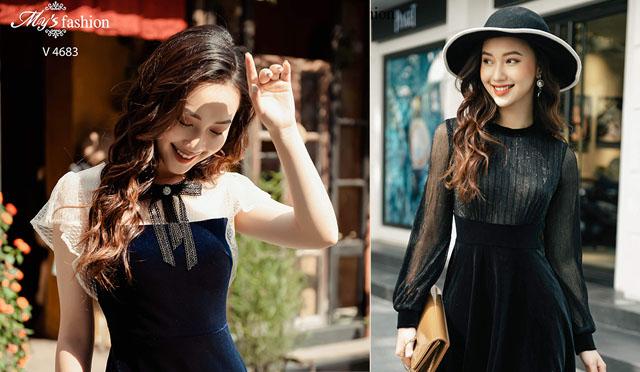 Thêm nhiều sự lựa chọn mới cho phái đẹp với trang phục từ chất liệu nhung