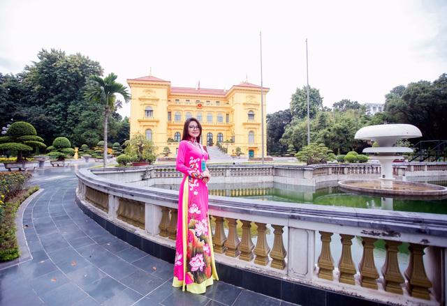 Á hậu Nga Queen làm đại sứ Hành trình kết nối yêu thương số 9