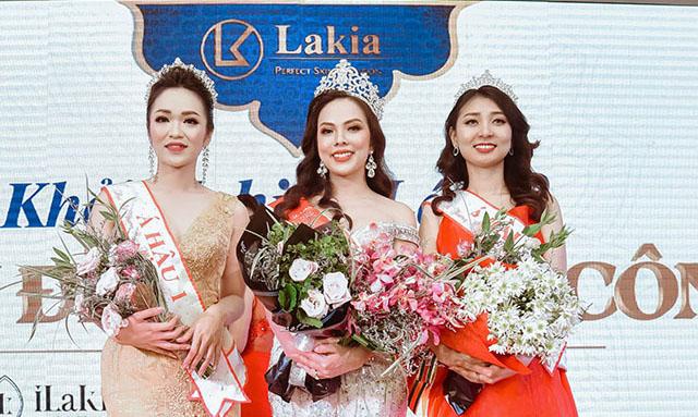 Ngôi vị Miss Lakia 2018 gọi tên Lê Thị Thu Hà