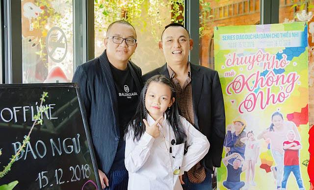 """Đạo diễn Anthony Võ cùng nhạc sĩ Yên Lam ra mắt phim sitcom """"Chuyện nhỏ mà không nhỏ"""""""