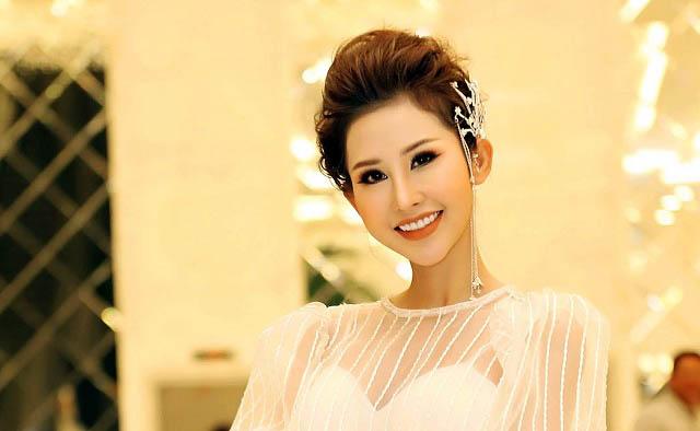 Hoa hậu Chi Nguyễn diện váy trắng bồng bềnh như công chúa tại sự kiện