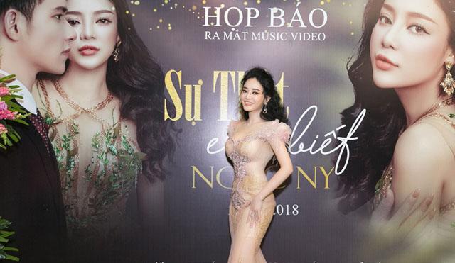 """Ngọc Ny khoe làn da trắng sứ cùng vòng eo 54 cm ngày ra mắt MV """"Sự thật em biết"""""""