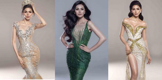 Hoa hậu Kim Nguyên đẹp tựa nữ thần chào năm 2019