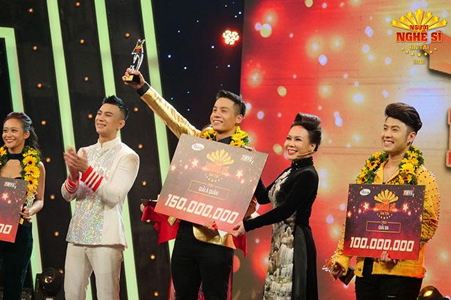 Nam vương Cao Xuân Tài đạt giải Á quân Người nghệ sỹ đa tài 2018
