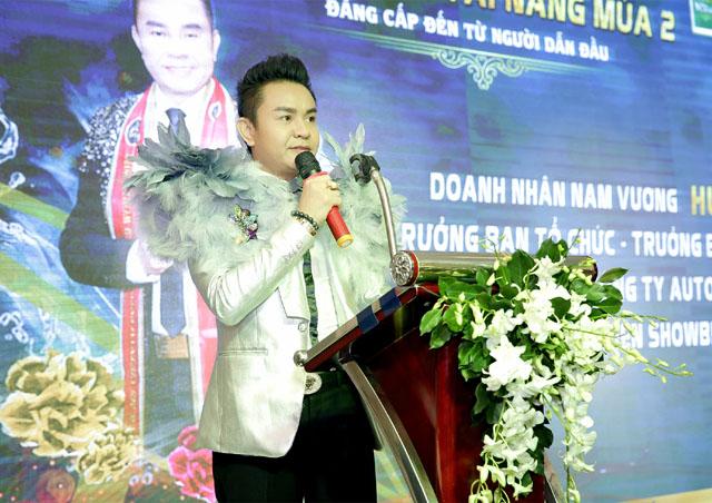 Nam vương Huy Hoàng chuẩn bị cho đêm chung kết Doanh nhân tài năng mùa 2