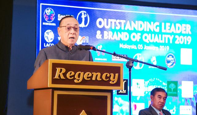Vinh danh Nhà lãnh đạo xuất sắc, Doanh nghiệp tiêu biểu, Thương hiệu Chất lượng Châu Á Thái Bình Dương và mục tiêu thúc đẩy nền kinh tế