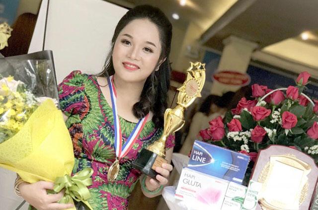 Nguyễn Thị Ngọc Sang lột xác sau khi chọn mỹ phẩm Hapi để phát triển sự nghiệp