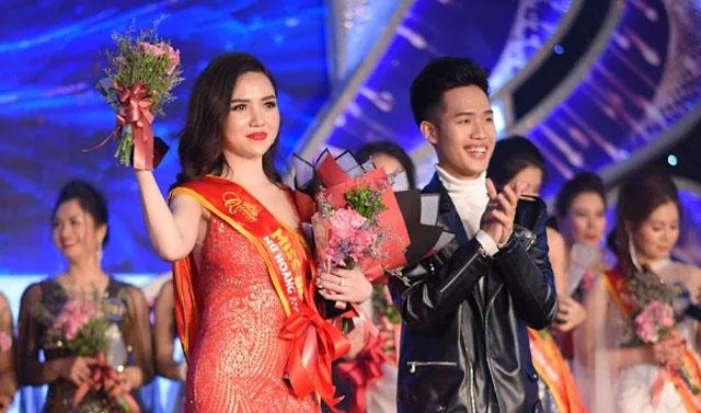 """Doanh nhân Phan Thị Vân Anh đăng quang danh hiệu """"Nữ hoàng Duyên dáng Queen Beauty 2018"""""""
