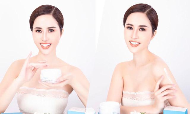 Princess Ngọc Hân nâng tầm nhan sắc Việt với White perfect body cream